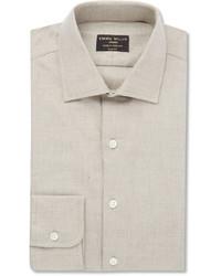 Emma Willis Beige Cotton And Cashmere Blend Shirt