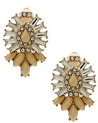 Beige Earrings