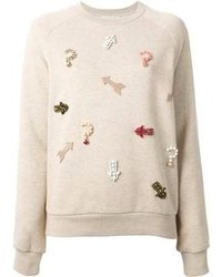 Embellished arrow sweatshirt medium 80523