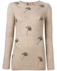 No21 embellished sweater medium 350670