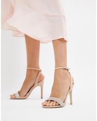 New Look Gem Strap Heeled Sandal
