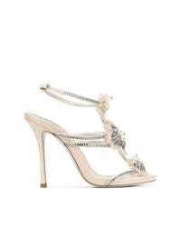 Rene Caovilla Ren Caovilla Strappy Embellished Sandals