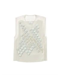 3.1 Phillip Lim Dandelion Embellished Silk Top