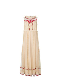 RED Valentino Long Romantic Dress