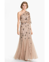 Beige Evening Dress