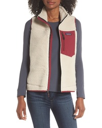 Beige Fleece Gilet