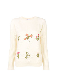RED Valentino Embroidered Sweater