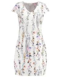 Anna Field Shift Dress Whitegreen