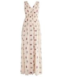 Intropia Maxi Dress Beige