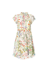 RED Valentino Floral Gathered Dress