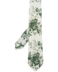 Al Duca Daosta 1902 Floral Print Tie
