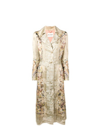 Etro Floral Trench Coat