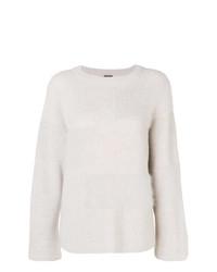 Lorena Antoniazzi Fuzzy Panel Sweater