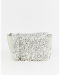 New Look Fringe Bead Chain Shoulder Bag