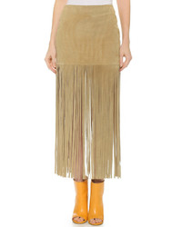Theperfext mimi fringe skirt medium 320252