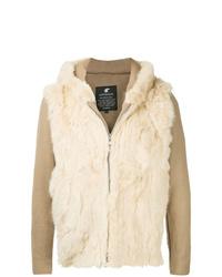 Loveless Zipped Fur Jacket