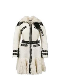 Alexander McQueen Buffalo Med Biker Coat
