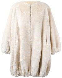 Vintage fur for fun coat medium 842715