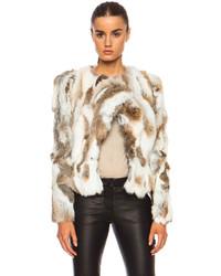Isabel Marant Anise Steppe Fur Jacket