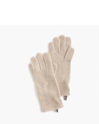 J.Crew Kids Ribbed Cashmere Gloves