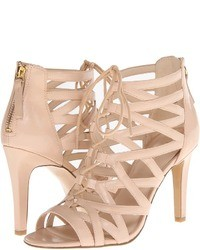 Beige heeled sandals original 1640193