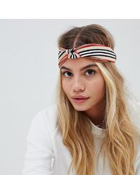My Accessories Striped Twist Headband