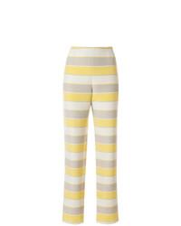 Giorgio Armani Vintage Slim Striped Trousers