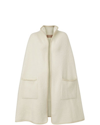Burberry Wool Fleece Cape