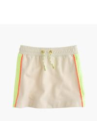 J.Crew Girls Mesh Side Striped Knit Skirt