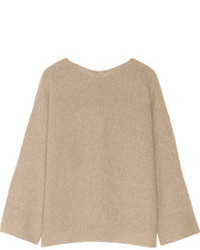 The Row Kerr Oversized Cashmere And Silk Blend Sweater