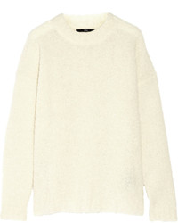 Tibi Oversized Alpaca Blend Boucl Sweater