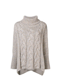N.Peal Oversized Roll Neck Jumper