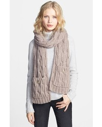 Vince Camuto Cable Knit Scarf
