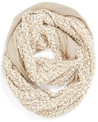 Collection XIIX Metallic Confetti Mixed Media Infinity Scarf