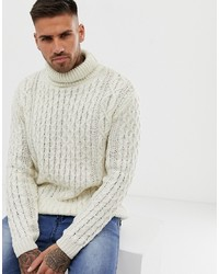 Pull&Bear Jumper In Tan