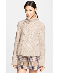 Nicola cable knit turtleneck medium 114224