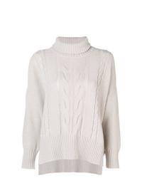 Lorena Antoniazzi Pigtail Knit Sweater