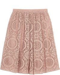 London cotton blend lace skirt medium 203873
