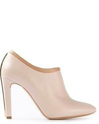 Chloé Metallic Trim Booties