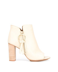 See by Chloe See By Chlo Peep Toe Ankle Boots