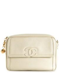 Chanel Vintage Caviar Cc Camera Bag