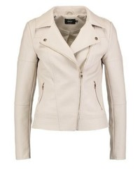 Onlcara faux leather jacket pumice stone medium 3993204
