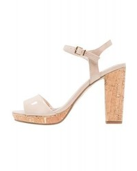 High heeled sandals shell medium 4049415