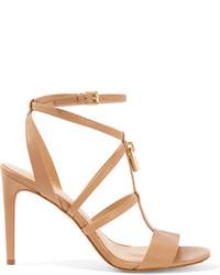MICHAEL Michael Kors Michl Michl Kors Antoinette Leather Sandals Neutral