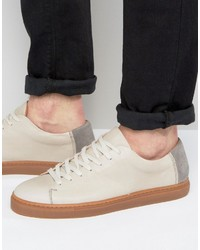 vans california premium sneakers beige leather