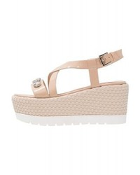 Variant platform sandals beige medium 4059656