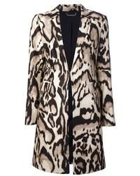Beige Leopard Coat
