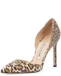 Tayler leopard print suede dorsay pump medium 420989