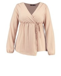 Missguided Blouse Nude