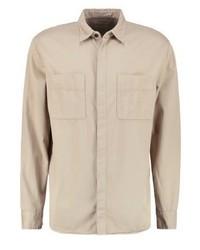 Nudie Jeans Calle Shirt Beige